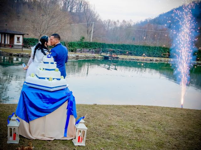 Il matrimonio di Angel Luis e Shayne a Soriso, Novara 99