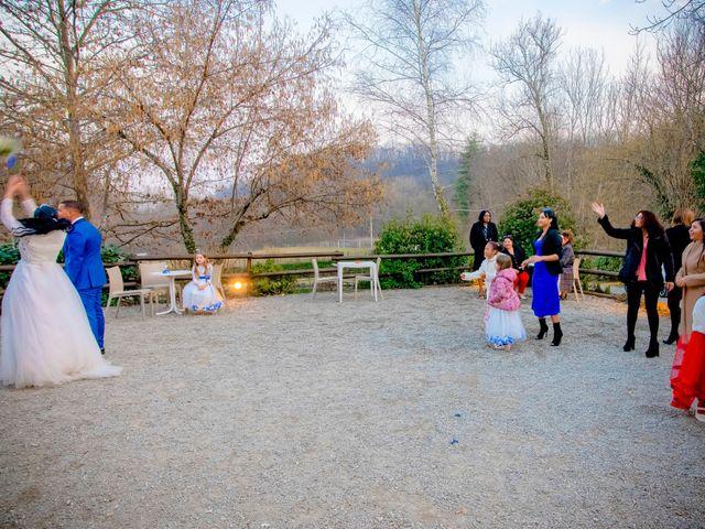Il matrimonio di Angel Luis e Shayne a Soriso, Novara 103
