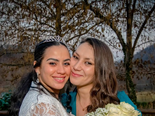 Il matrimonio di Angel Luis e Shayne a Soriso, Novara 104
