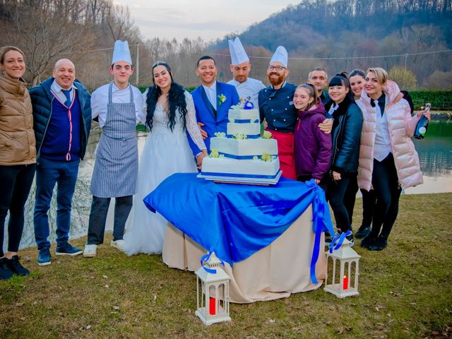 Il matrimonio di Angel Luis e Shayne a Soriso, Novara 105
