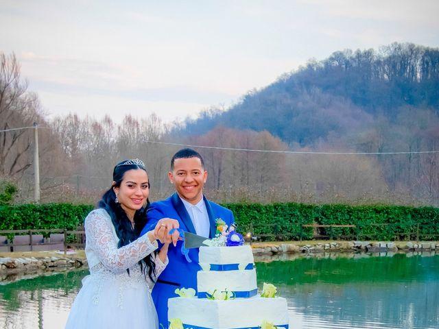 Il matrimonio di Angel Luis e Shayne a Soriso, Novara 106