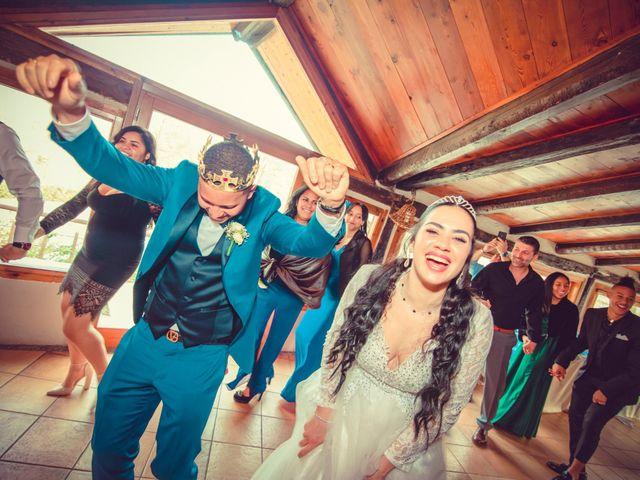Il matrimonio di Angel Luis e Shayne a Soriso, Novara 110