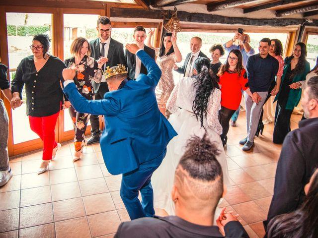 Il matrimonio di Angel Luis e Shayne a Soriso, Novara 123