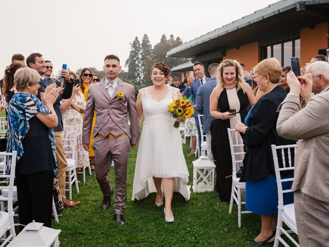 Il matrimonio di Simone e Stefania a Briosco, Monza e Brianza 47