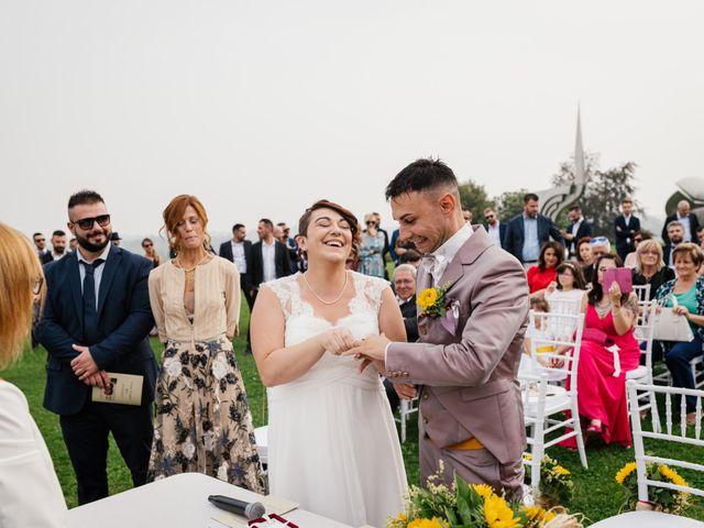 Il matrimonio di Simone e Stefania a Briosco, Monza e Brianza 54