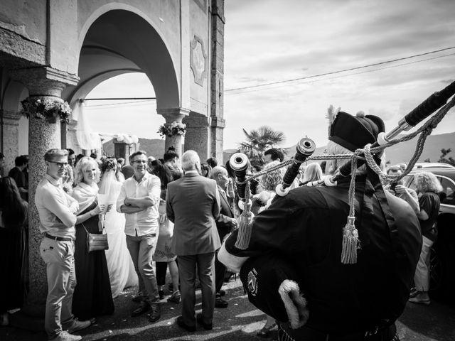 Il matrimonio di Martino e Alison a Stresa, Verbania 23