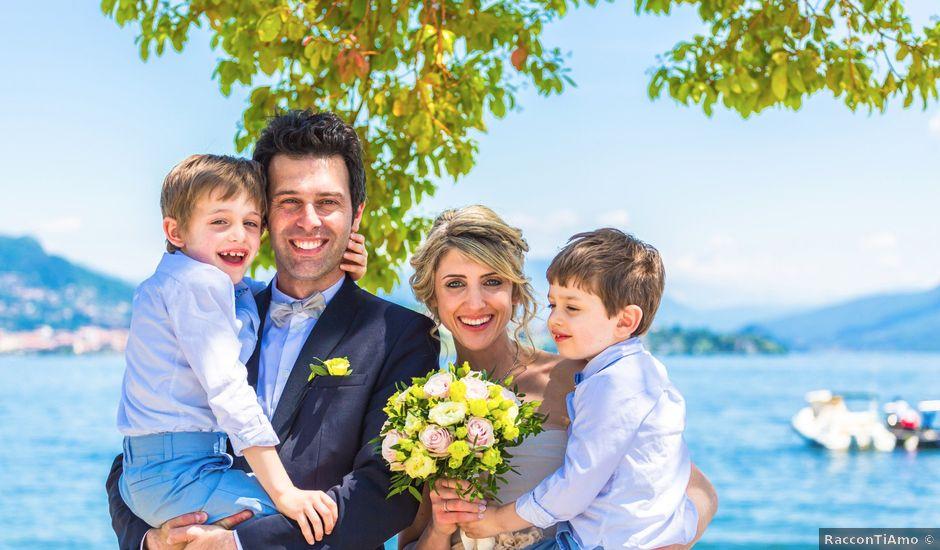 Il matrimonio di Lucia e Emanuele a Stresa, Verbania