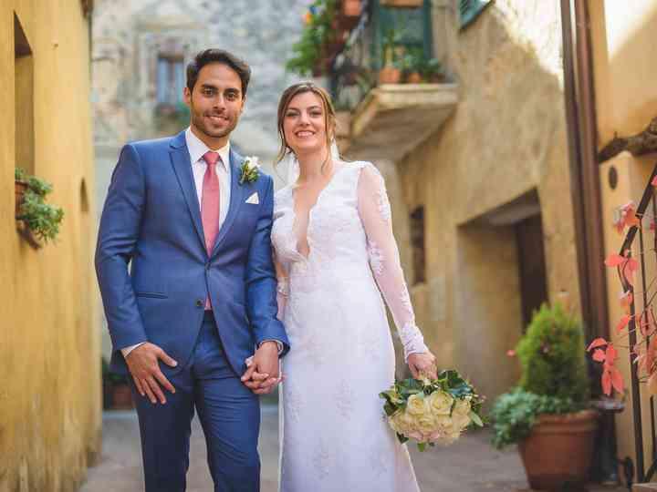 le nozze di Stefani e Andre