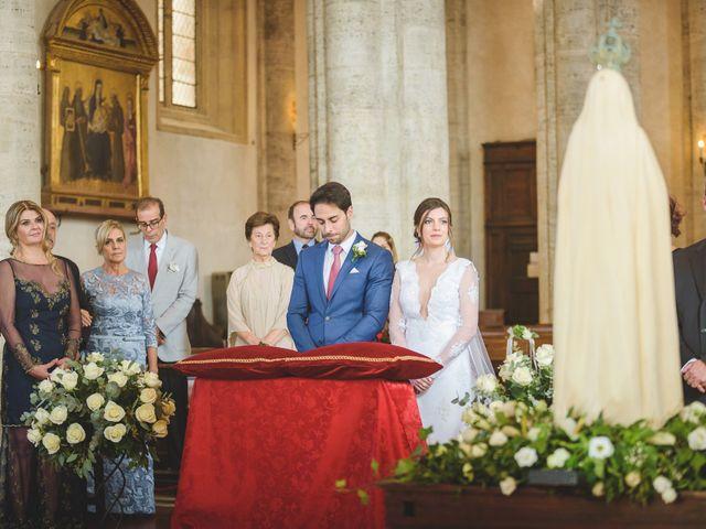 Il matrimonio di Andre e Stefani a Pienza, Siena 11
