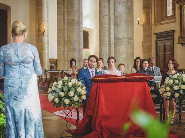 Il matrimonio di Andre e Stefani a Pienza, Siena 13