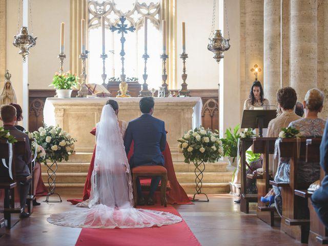 Il matrimonio di Andre e Stefani a Pienza, Siena 14