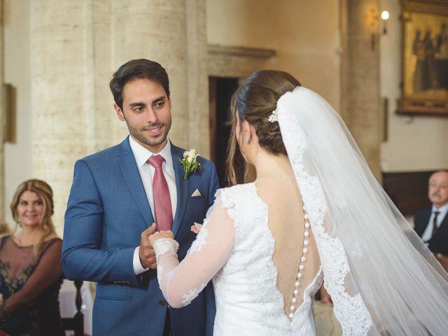 Il matrimonio di Andre e Stefani a Pienza, Siena 16