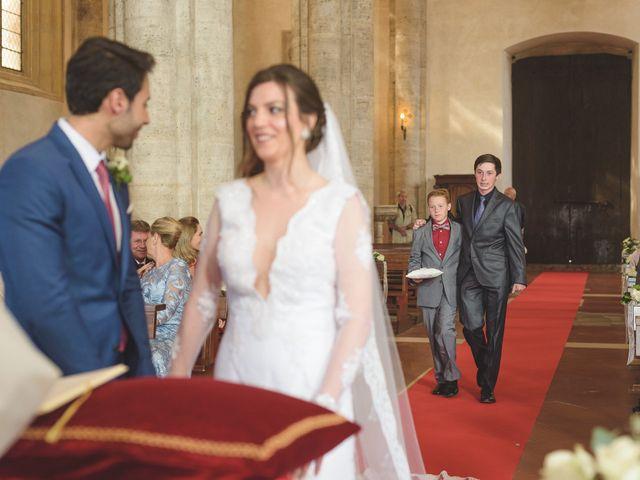 Il matrimonio di Andre e Stefani a Pienza, Siena 17