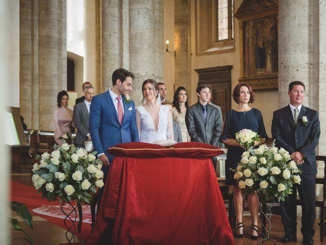 Il matrimonio di Andre e Stefani a Pienza, Siena 23