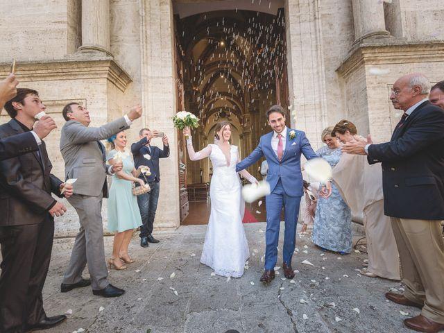 Il matrimonio di Andre e Stefani a Pienza, Siena 32