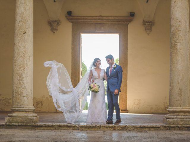 Il matrimonio di Andre e Stefani a Pienza, Siena 35