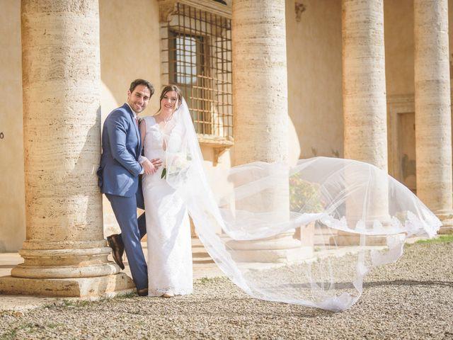 Il matrimonio di Andre e Stefani a Pienza, Siena 39