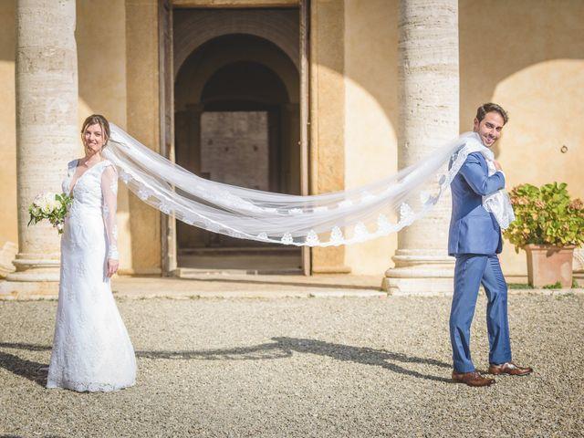 Il matrimonio di Andre e Stefani a Pienza, Siena 42