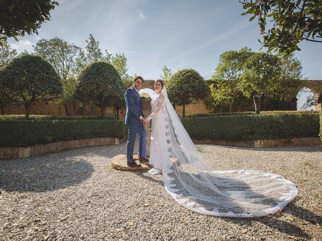 Il matrimonio di Andre e Stefani a Pienza, Siena 43