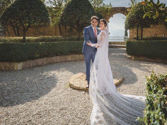 Il matrimonio di Andre e Stefani a Pienza, Siena 44
