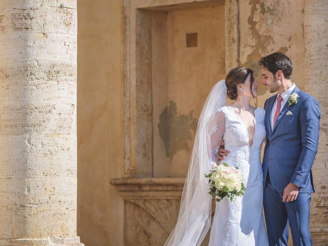 Il matrimonio di Andre e Stefani a Pienza, Siena 46