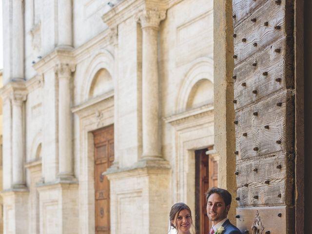 Il matrimonio di Andre e Stefani a Pienza, Siena 50