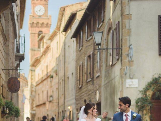 Il matrimonio di Andre e Stefani a Pienza, Siena 51