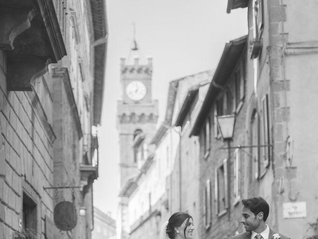 Il matrimonio di Andre e Stefani a Pienza, Siena 52