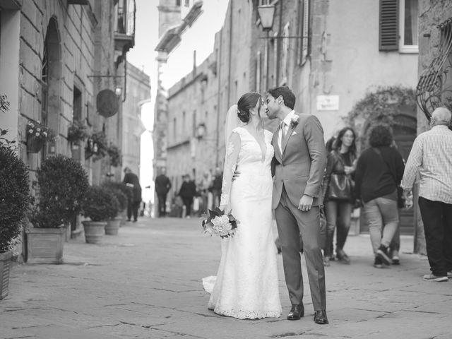Il matrimonio di Andre e Stefani a Pienza, Siena 53