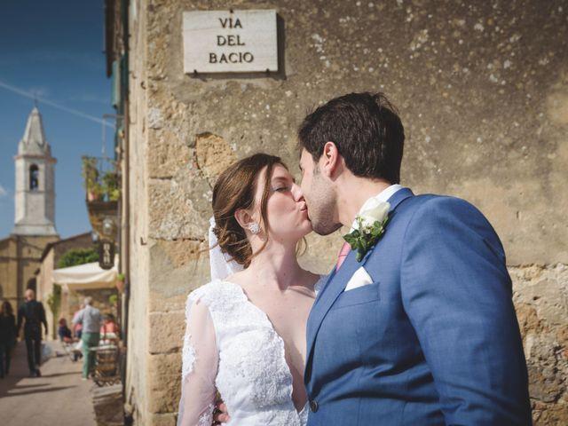 Il matrimonio di Andre e Stefani a Pienza, Siena 54