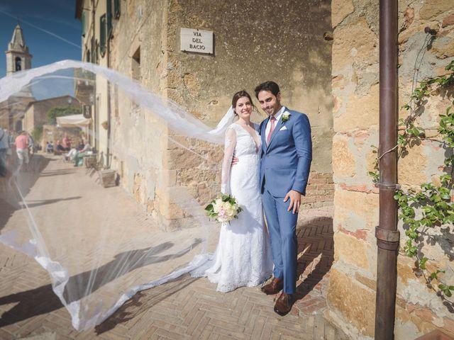 Il matrimonio di Andre e Stefani a Pienza, Siena 55