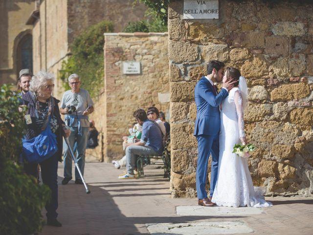 Il matrimonio di Andre e Stefani a Pienza, Siena 56
