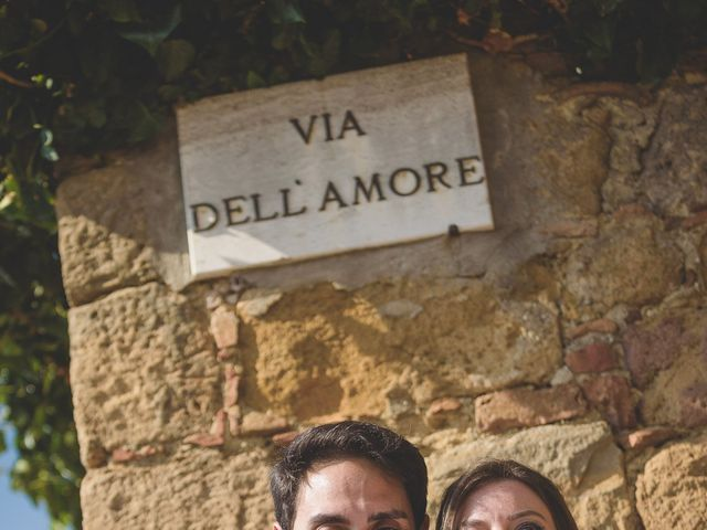 Il matrimonio di Andre e Stefani a Pienza, Siena 57