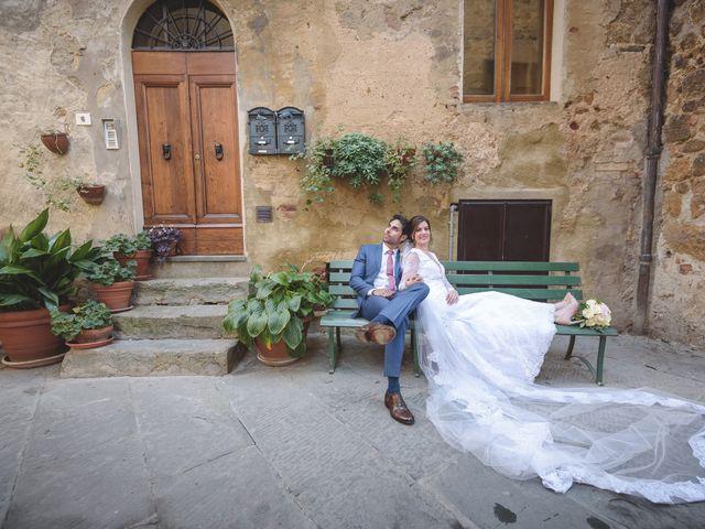 Il matrimonio di Andre e Stefani a Pienza, Siena 59