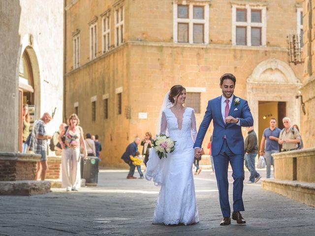 Il matrimonio di Andre e Stefani a Pienza, Siena 63