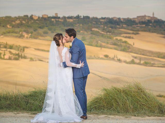Il matrimonio di Andre e Stefani a Pienza, Siena 83
