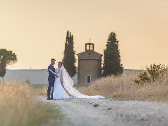 Il matrimonio di Andre e Stefani a Pienza, Siena 85
