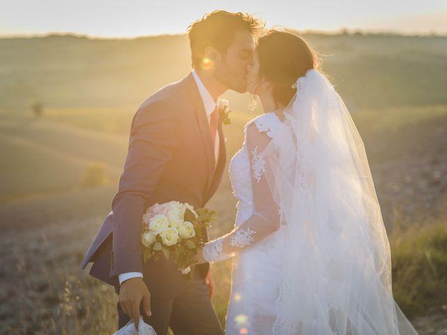 Il matrimonio di Andre e Stefani a Pienza, Siena 86