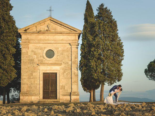 Il matrimonio di Andre e Stefani a Pienza, Siena 87