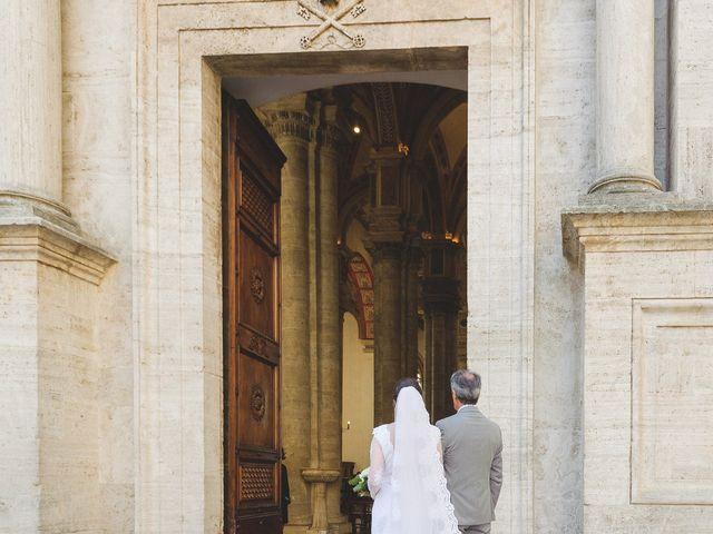 Il matrimonio di Andre e Stefani a Pienza, Siena 100