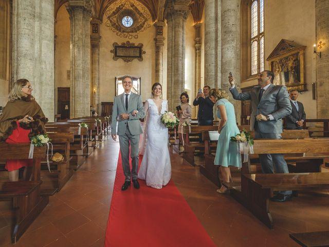 Il matrimonio di Andre e Stefani a Pienza, Siena 101