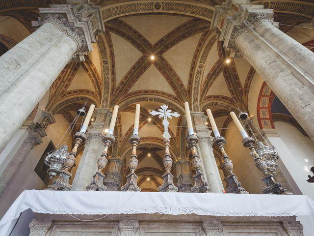 Il matrimonio di Andre e Stefani a Pienza, Siena 104