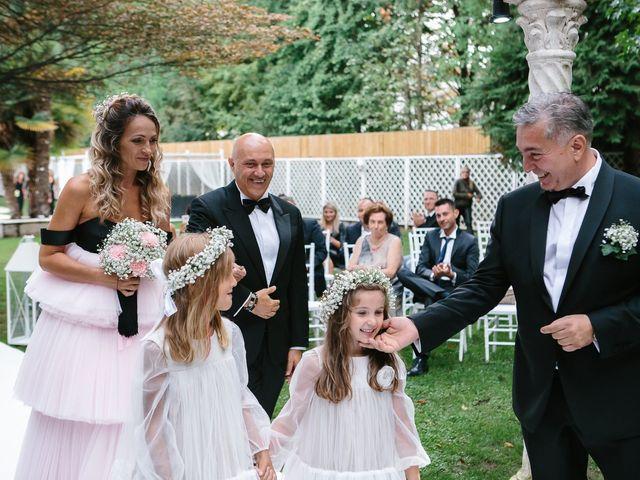 Il matrimonio di Guseppe e Natalia a Magnago, Milano 22