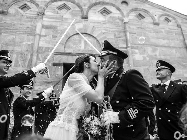 Il matrimonio di Giuseppe e Helga a Vicopisano, Pisa 52