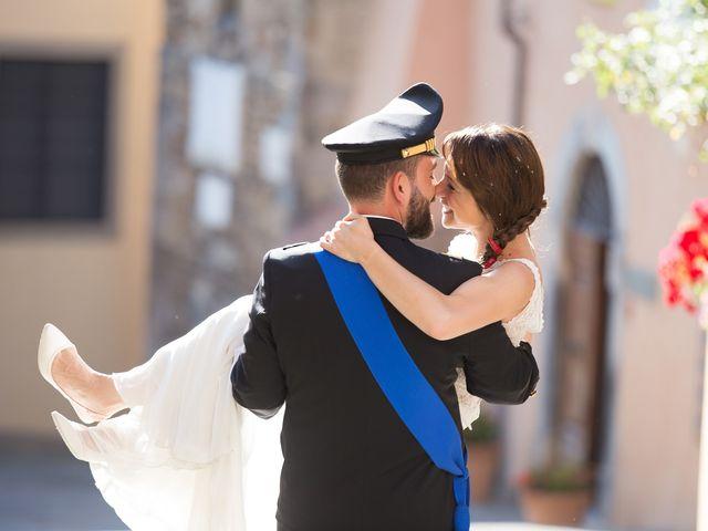 Il matrimonio di Giuseppe e Helga a Vicopisano, Pisa 59