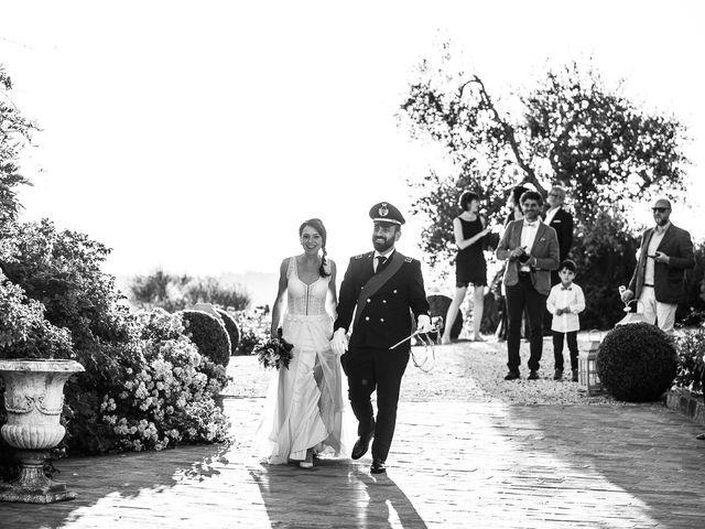 Il matrimonio di Giuseppe e Helga a Vicopisano, Pisa 90