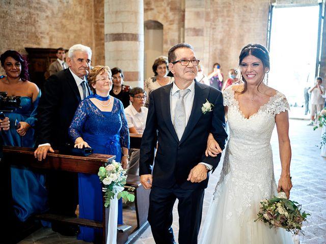 Il matrimonio di Angelo e Sara a Spello, Perugia 32
