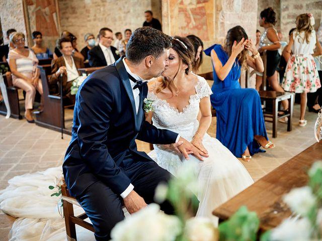 Il matrimonio di Angelo e Sara a Spello, Perugia 43