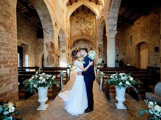 Il matrimonio di Angelo e Sara a Spello, Perugia 45