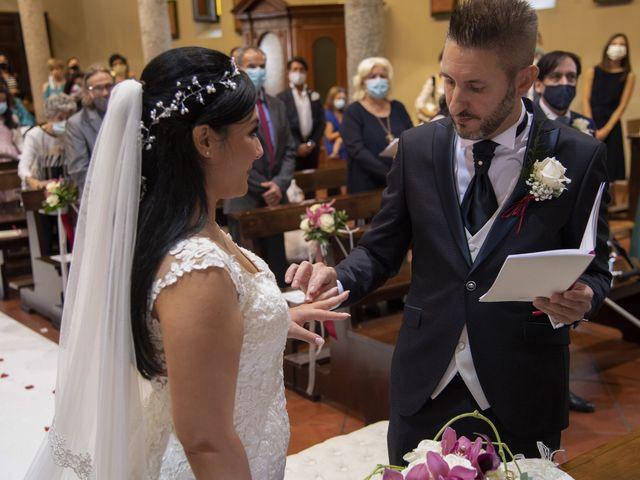 Il matrimonio di Francesco e RosaMaria a Paderno Franciacorta, Brescia 18